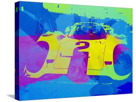 Porsche 917 Front End-NaxArt-Stretched Canvas Print