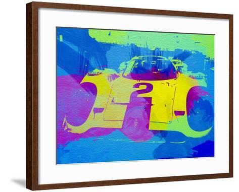 Porsche 917 Front End-NaxArt-Framed Art Print