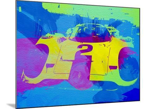 Porsche 917 Front End-NaxArt-Mounted Art Print