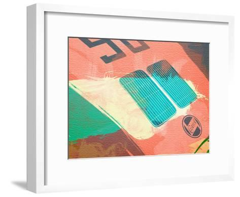 Porsche 356 Detail-NaxArt-Framed Art Print