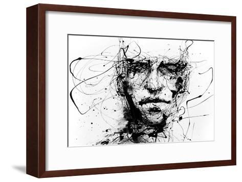 Lines Hold The Memories-Agnes Cecile-Framed Art Print