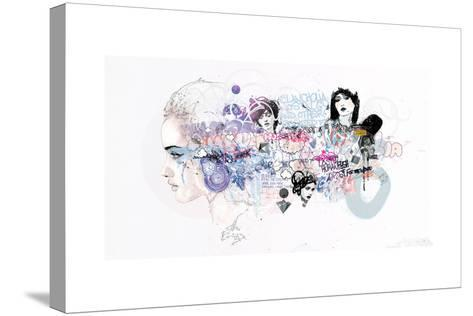Melancholia Nostalgia And Other Related Feeling-Mydeadpony-Stretched Canvas Print
