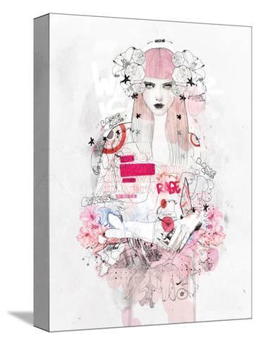 Battle Zone-Mydeadpony-Stretched Canvas Print