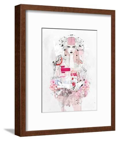Battle Zone-Mydeadpony-Framed Art Print