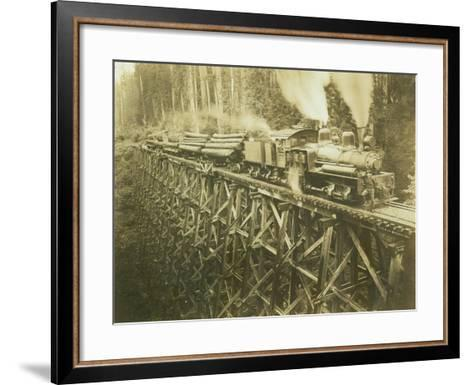 N.W.L. Co. Keriston, Washington (ca. 1912)-Darius Kinsey-Framed Art Print