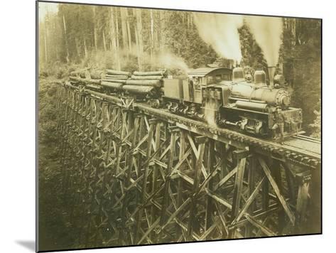 N.W.L. Co. Keriston, Washington (ca. 1912)-Darius Kinsey-Mounted Giclee Print