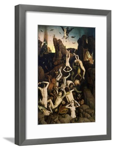 Hell, or the Fall of the Damned-Dieric Bouts-Framed Art Print