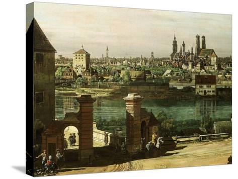 Munich, Germany, 1761 (Detail)-Bernardo Bellotto-Stretched Canvas Print