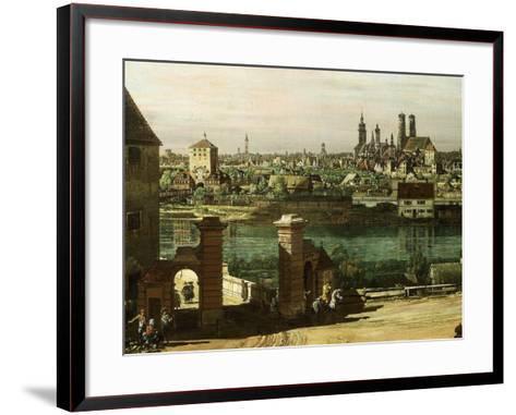 Munich, Germany, 1761 (Detail)-Bernardo Bellotto-Framed Art Print