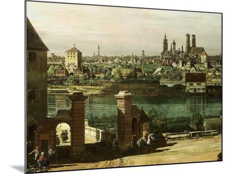Munich, Germany, 1761 (Detail)-Bernardo Bellotto-Mounted Giclee Print