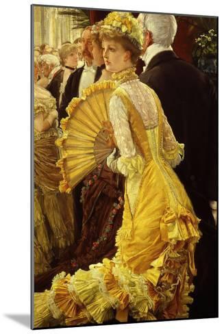 Le Bal (The Ball)-James Tissot-Mounted Giclee Print