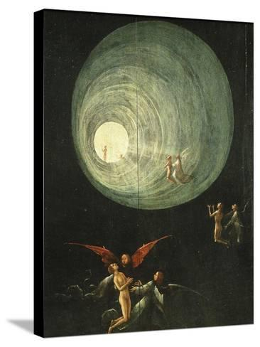 Tunnel of Light, from Paradise (Detail)-Hieronymus Bosch-Stretched Canvas Print