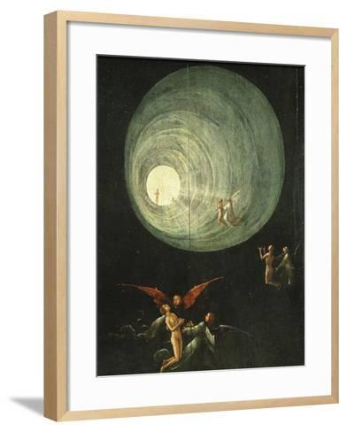 Tunnel of Light, from Paradise (Detail)-Hieronymus Bosch-Framed Art Print