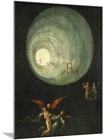 Tunnel of Light, from Paradise (Detail)-Hieronymus Bosch-Mounted Giclee Print