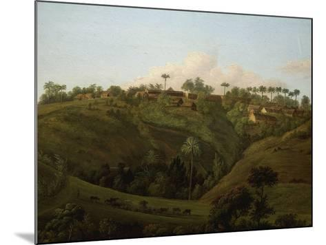 Guadeloupe, West Indies, Late 18th Century-Jenny Prinssay-Mounted Giclee Print