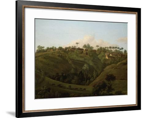 Guadeloupe, West Indies, Late 18th Century-Jenny Prinssay-Framed Art Print