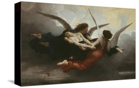 Une ?me Au Ciel (A Soul in Heaven), 1878-William Adolphe Bouguereau-Stretched Canvas Print