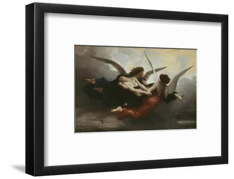 Une ?me Au Ciel (A Soul in Heaven), 1878-William Adolphe Bouguereau-Framed Art Print