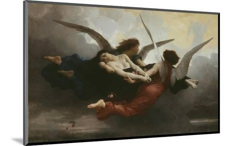 Une ?me Au Ciel (A Soul in Heaven), 1878-William Adolphe Bouguereau-Mounted Giclee Print