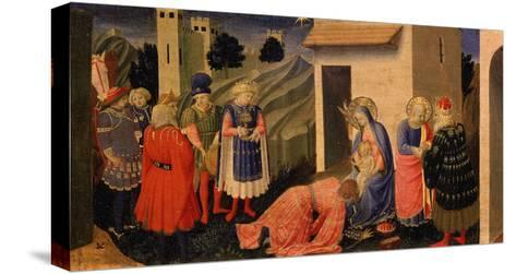 Adoration of the Magi-Fra Angelico-Stretched Canvas Print