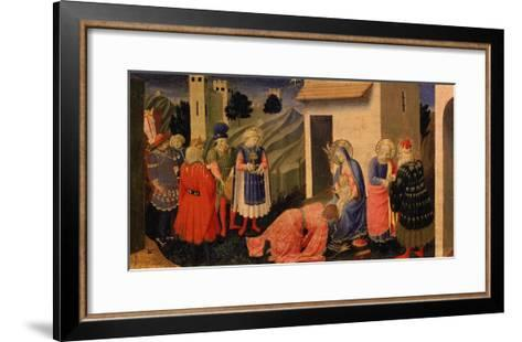 Adoration of the Magi-Fra Angelico-Framed Art Print