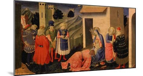 Adoration of the Magi-Fra Angelico-Mounted Giclee Print