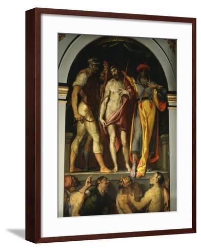 Ecce Homo, C. 1575-Bartolomeo Passarotti-Framed Art Print