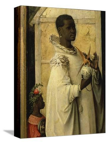 King Gaspard, from Adoration of the Magi, Tripytch, C.1495-Hieronymus Bosch-Stretched Canvas Print