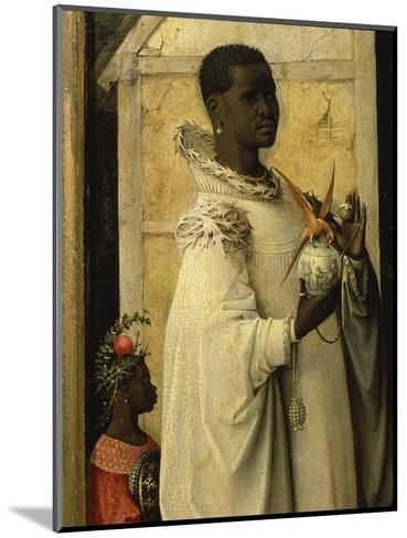 King Gaspard, from Adoration of the Magi, Tripytch, C.1495-Hieronymus Bosch-Mounted Giclee Print