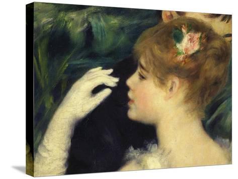 Danse a La Ville, Dancing in Town, 1883, Detail-Pierre-Auguste Renoir-Stretched Canvas Print