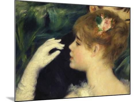Danse a La Ville, Dancing in Town, 1883, Detail-Pierre-Auguste Renoir-Mounted Giclee Print