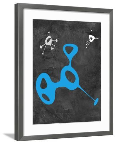 Abstract Splash Theme 15-NaxArt-Framed Art Print
