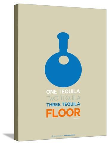 Blue Tequila-NaxArt-Stretched Canvas Print