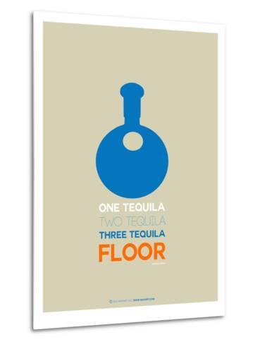 Blue Tequila-NaxArt-Metal Print