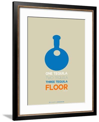 Blue Tequila-NaxArt-Framed Art Print