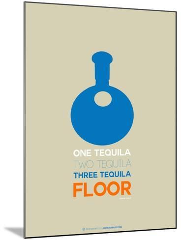 Blue Tequila-NaxArt-Mounted Art Print