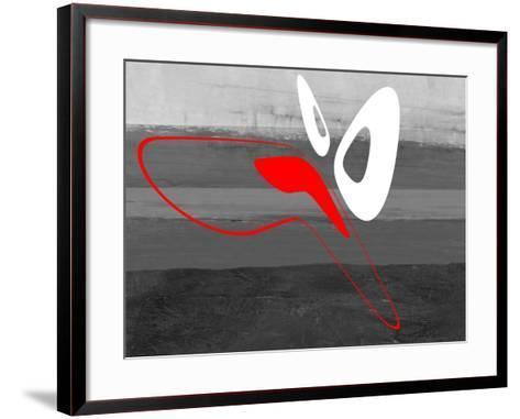 Abstract Oval Shape 8-NaxArt-Framed Art Print
