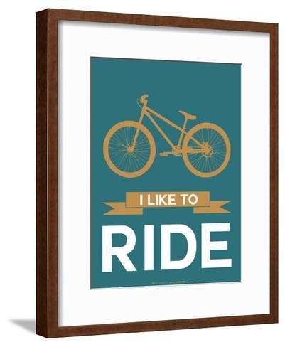 I Like to Ride 6-NaxArt-Framed Art Print
