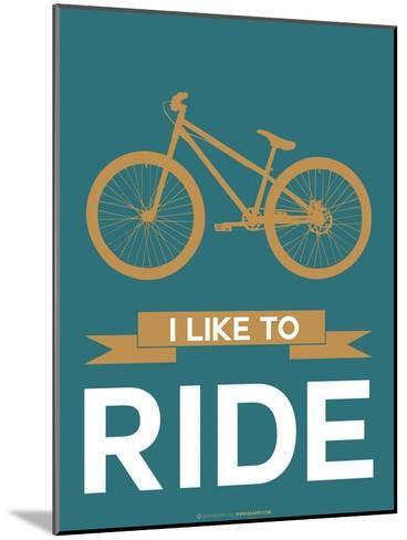 I Like to Ride 6-NaxArt-Mounted Art Print