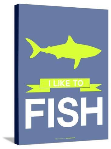 I Like to Fish 2-NaxArt-Stretched Canvas Print