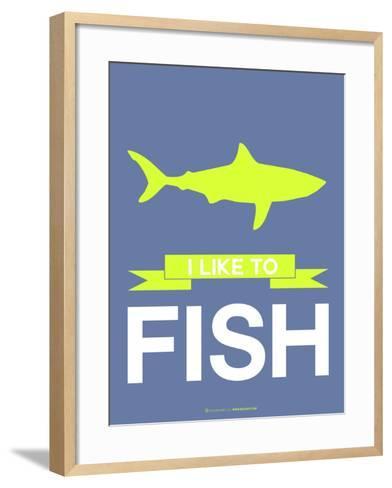 I Like to Fish 2-NaxArt-Framed Art Print