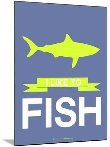 I Like to Fish 2-NaxArt-Mounted Art Print