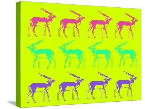 Safari 12-NaxArt-Stretched Canvas Print