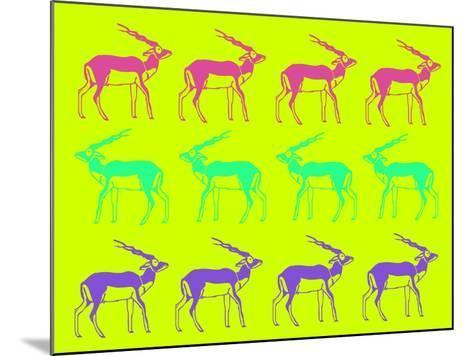 Safari 12-NaxArt-Mounted Art Print