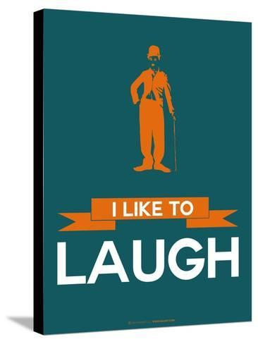 I Like to Laugh 2-NaxArt-Stretched Canvas Print