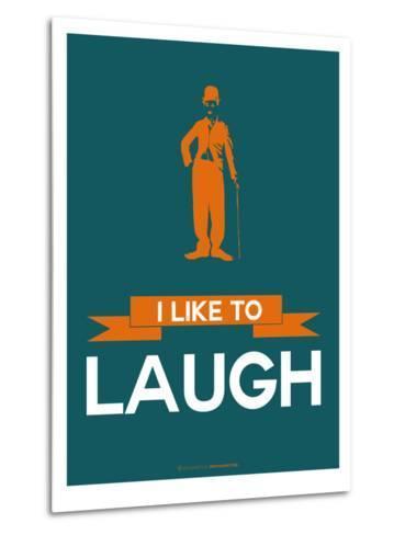 I Like to Laugh 2-NaxArt-Metal Print