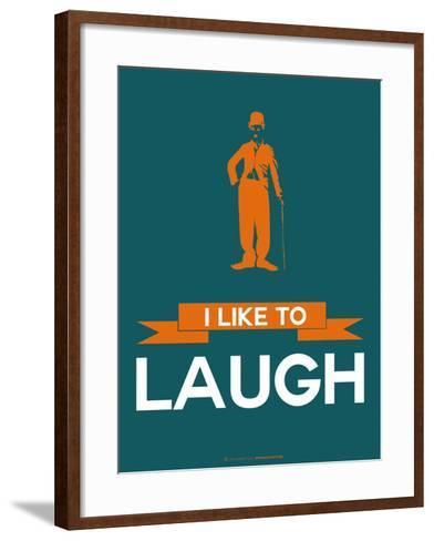 I Like to Laugh 2-NaxArt-Framed Art Print