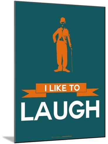 I Like to Laugh 2-NaxArt-Mounted Art Print