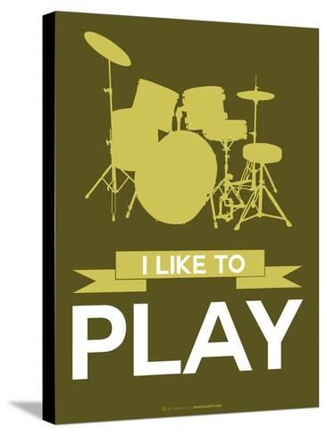 I Like to Play 5-NaxArt-Stretched Canvas Print