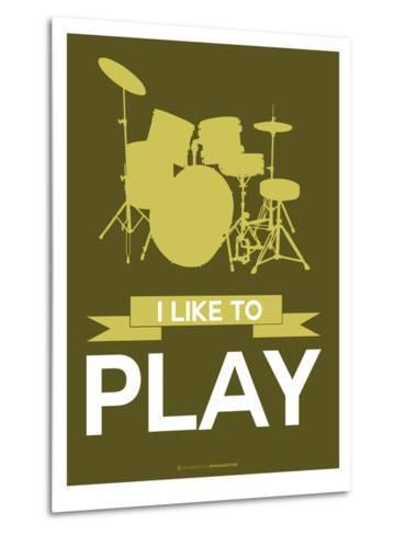 I Like to Play 5-NaxArt-Metal Print